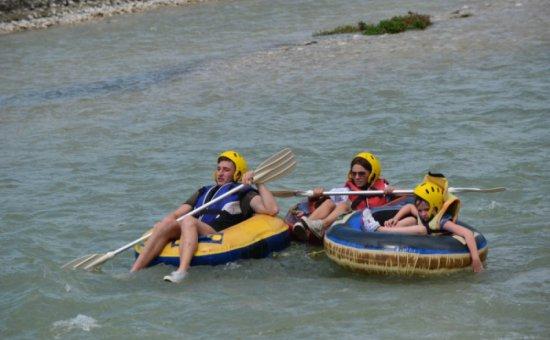 Saklıkent rafting activity