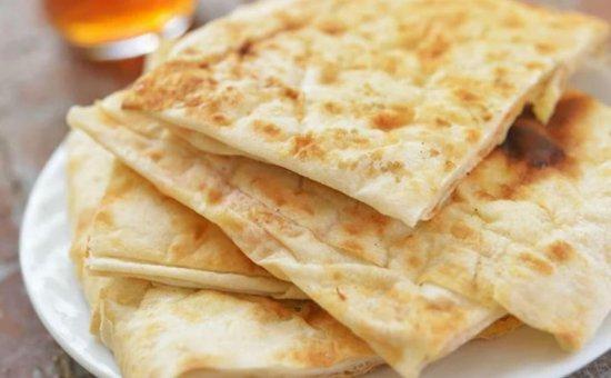 Plain cheese pancakes