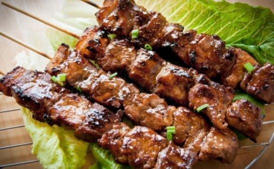 Beef skewer