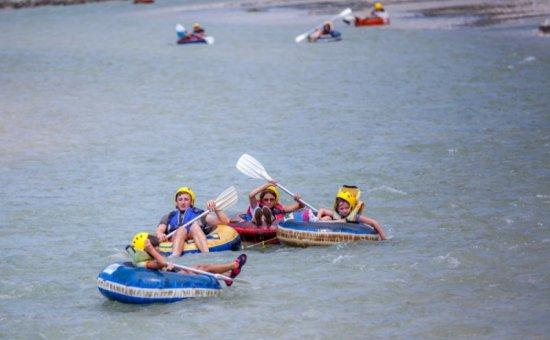 Saklıkent rafting aktivitesi
